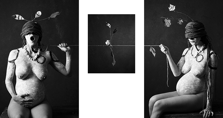 String triptych I: drag, equilibrium, pull